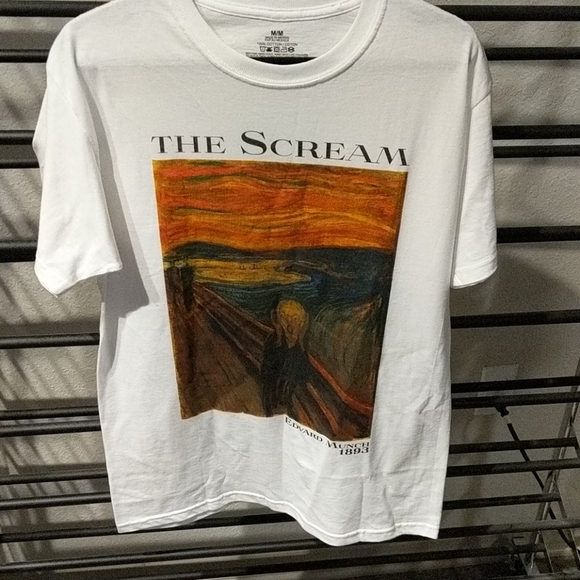 Edvard Munch 1893 the scream shirt